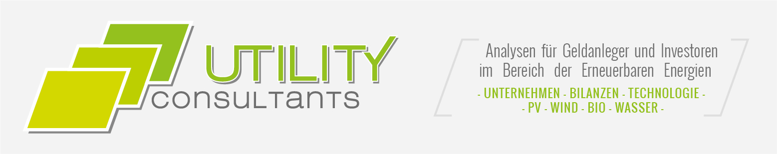 Utility Consultants - Analysen für Geldanleger und Investoren im Bereich der Erneuerbaren Energien